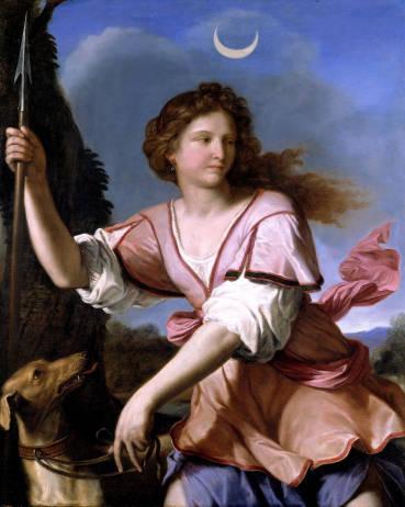 La Diana Cacciatrice del Guercino