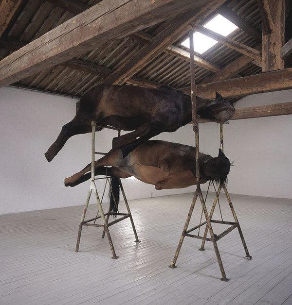 Berlinde De Bruyckere. Courtesy Galleria Continua