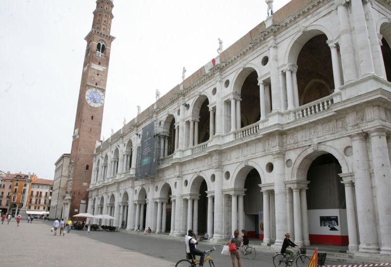 Una veduta della Basilica Palladiana