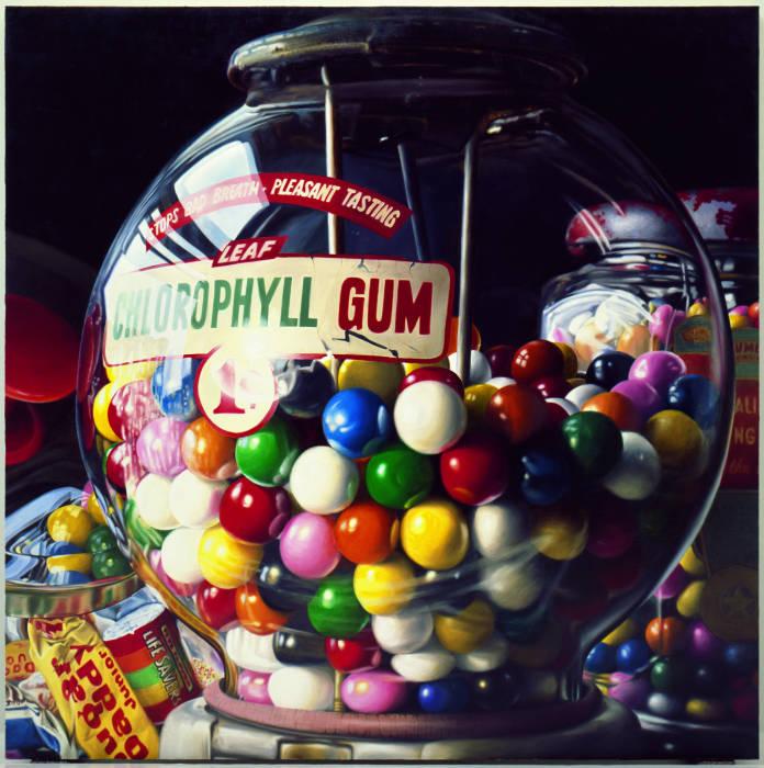 L'iperrealismo tra le specialità di casa Guggenheim: «Sugar Daddy» (1975) di Charles Bell. Olio su tela