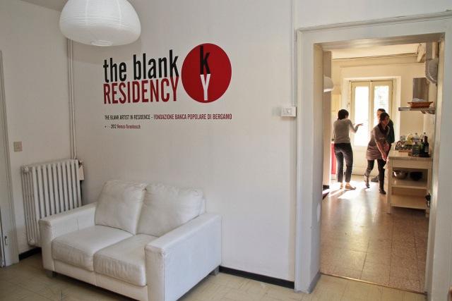 the Blank Artists Residence – Fondazione Banca Popolare di Bergamo: uno spazio polifunzionale nel cuore multi-etnico della città