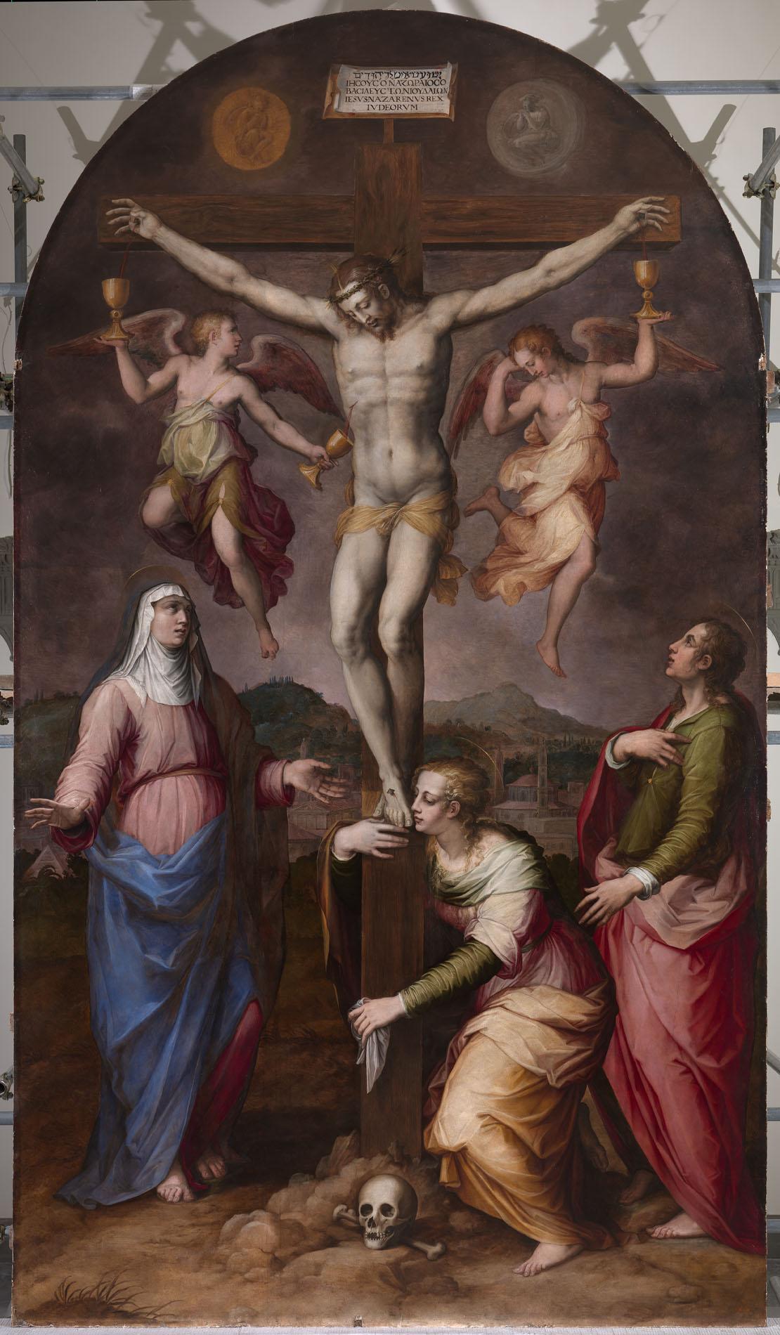 Crocifissione con la Madonna San Giovanni Evangelista e Maria Maddalena