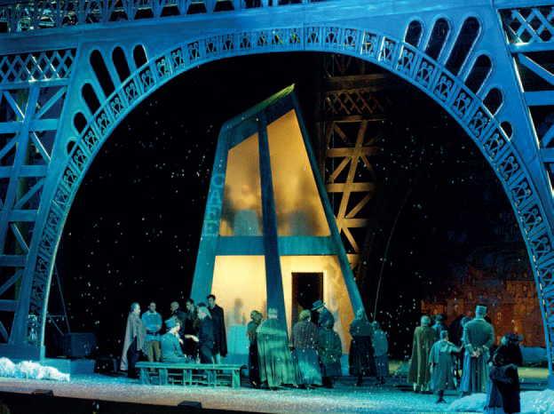 «La Bohème» rappresentata al Festival Puccini di Torre del Lago nel 2011