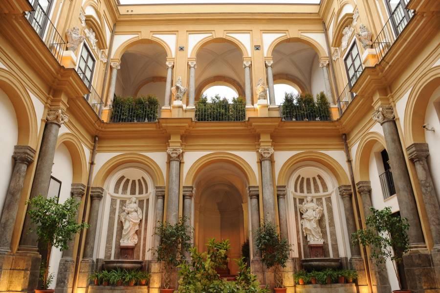 Un soffitto della chiesa della Martorana a Palermo