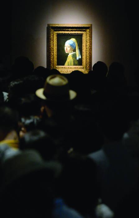 «La ragazza con l'orecchino di perla» di Vermeer
