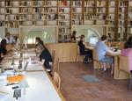Alcuni studiosi nella biblioteca della Fondazione Zeri