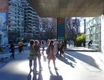 L'ingresso del Malba - Museo d'Arte Latinoamericana di Buenos Aires
