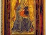 Il Tabernacolo dei Linaioli del beato Angelico restaurato. È un'opera del Progetto Restituzioni di Intesa Sanpaolo (2011)