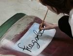 Artista al lavoro al CDI di Milano