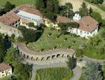 Veduta dall'alto di Villa Ottolenghi