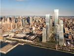 Un rendering del progetto di sviluppo Hudson Yards