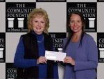 Consegna di un contributo da parte della Community Foundation of Middle Tennessee di Nashville