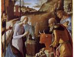 Dalla collezione d'arte della Fondazione Mps: «Adorazione dei pastori» di Pietro di Francesco