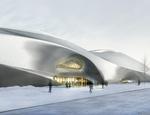 Progetto per il Nuovo Museo per le Sculture in Legno Cinesi che sorgerà nella città di Harbin (studio MAD)
